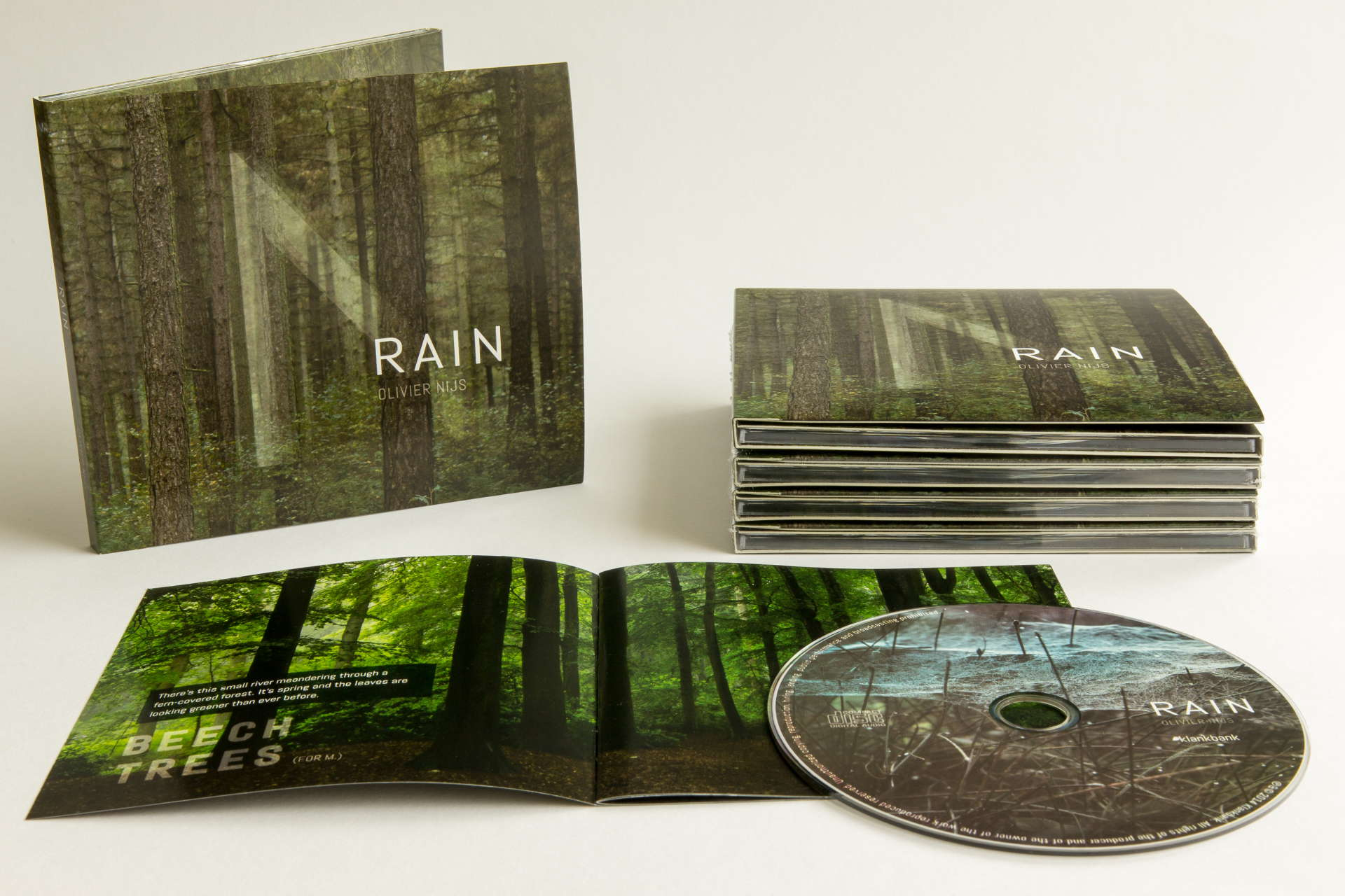 Rain cd digipack booklet