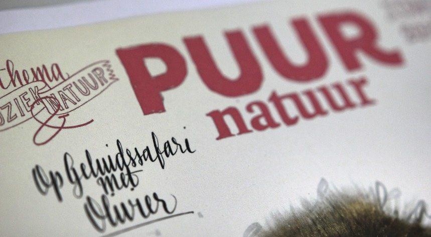 Natuurmonumenten Puur Natuur magazine in gesprek met Olivier Nijs